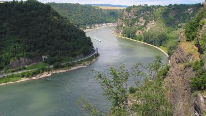 Rheintal mit Blick auf Loreley