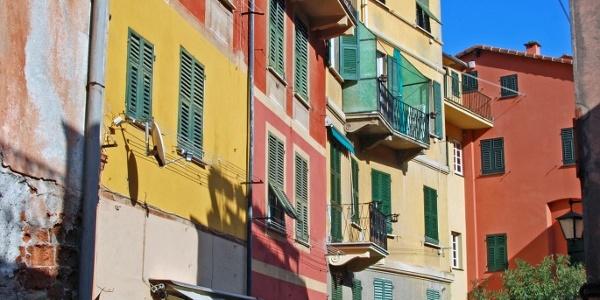 In der Altstadt von Portofino