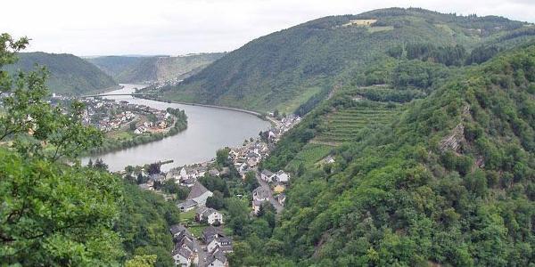 Aussicht auf Brodenbach