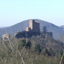 Reichsfeste Trifels bei Annweiler
