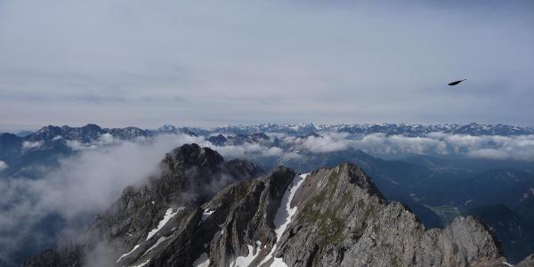 Sicht von der Karwendelgrube
