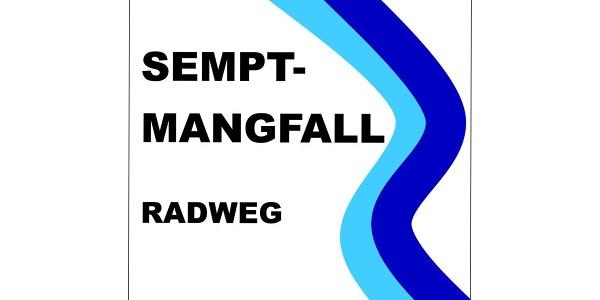 Wegkennzeichen Sempt Mangfall Radweg