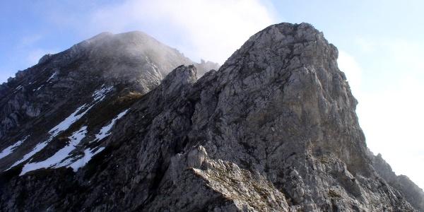 Erster Gratturm 2000 m