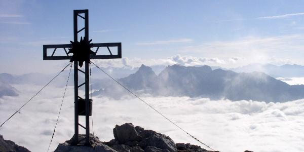 Gipfelkreuz vom Hexenturm 2174 m