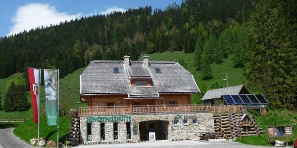 Nationalpark Hengstpaßhütte, Infostelle und Selbstversorgerhütte