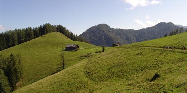 Die Blaberalm im Reichraminger Hintergebirge