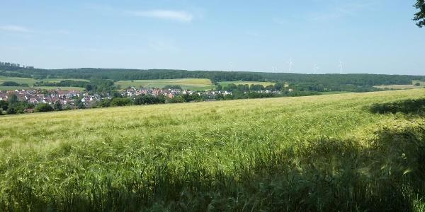 Aussichtspunkt oberhalb Wellerode