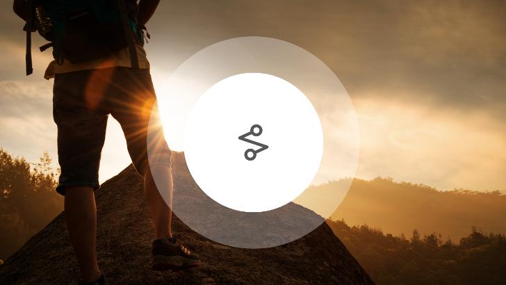 Gratis turplanlegger for fotturer, sykling og fjellklatring.