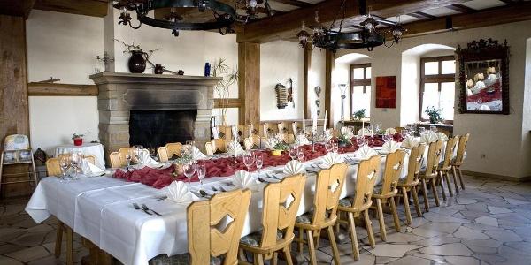 BurgRestaurant auf der Burg Lichtenberg