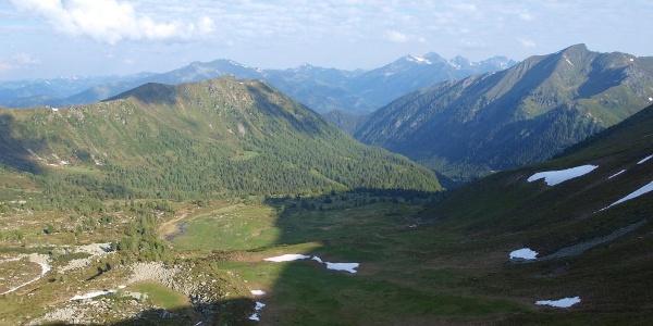 Ochsenboden vom Gaaler Törl 2081 m