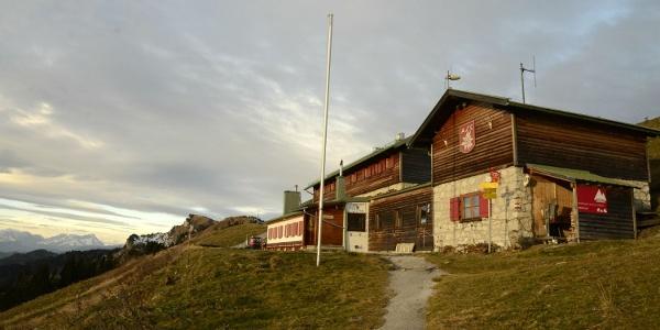 Exzellente Lage: Das Brauneck-Gipfelhaus