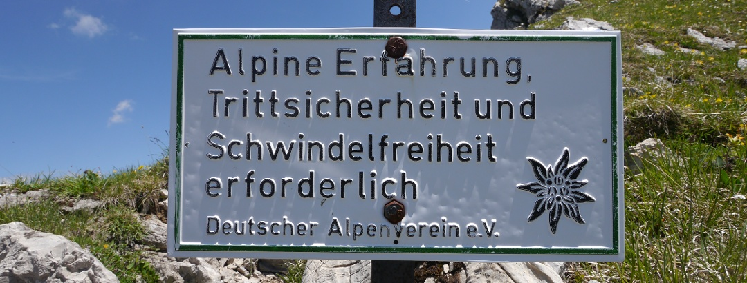 Hohe Gänge - vom Breitenberg zur Rotspitze