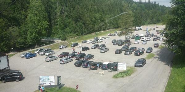Hochgratbahn Parkplatz