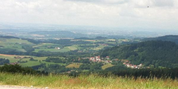 View towards the Donau valley