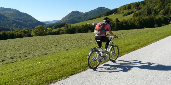 E-Bike Tour in den Naturpark Almenland