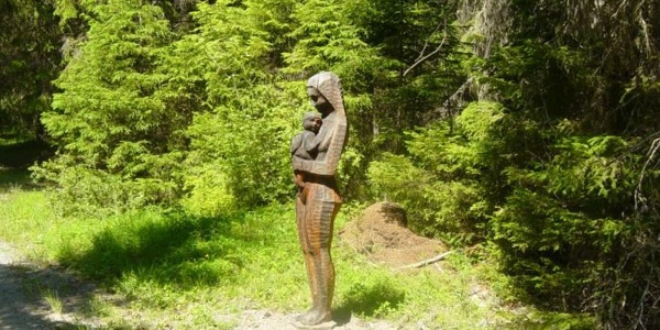 Skulpturenweg - senda da sculpturas