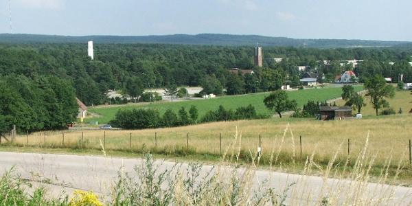 Blick nach Augustdorf