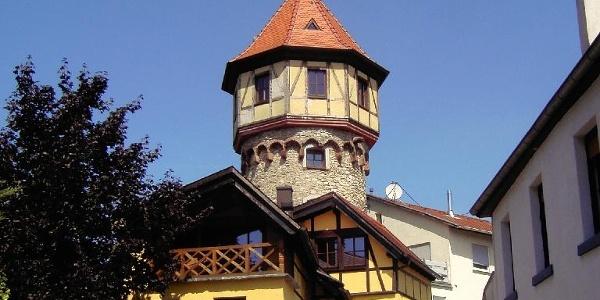 Der Lenhardsturm in Pfeddersheim.