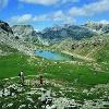 Blick auf den Crespëina-See.