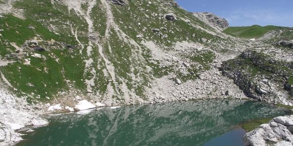 Blick auf den Laufbichelsee.