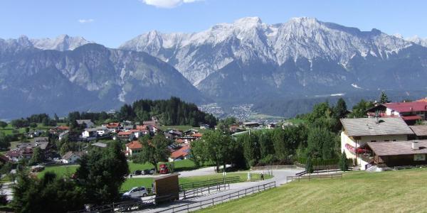Tulfes - Blick auf das Karwendel