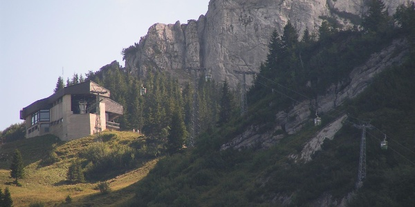 Bergstation der Taubensteinbahn