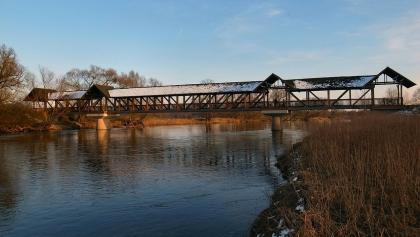 Brücke am Radweg