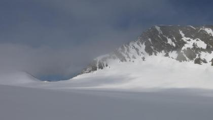 Gurgler Eisjoch im Blick, rechts der Bankkogel