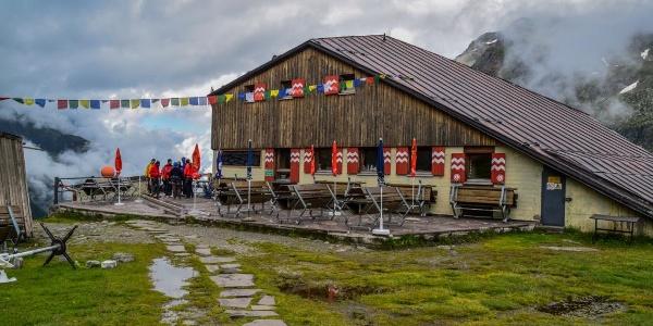 Sulzenauer Hütte - unser erstes Ziel/Übernachtung