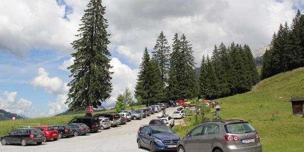 Parkplatz Erichhütte