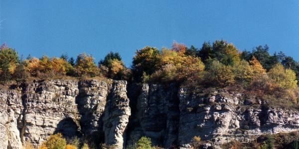 Blick auf Boller Fels