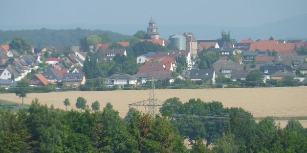 Landwehrhagen mit Kirche