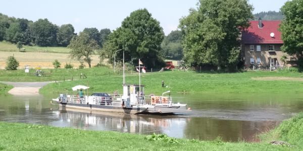 Fähre Lippoldsberg/Weser