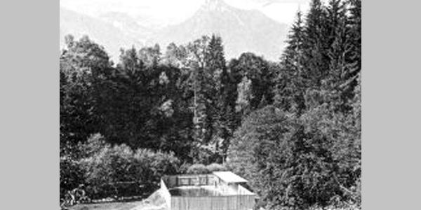 Erste Badeanstalt 1923