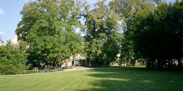 Im Schlossgarten von Türkheim.