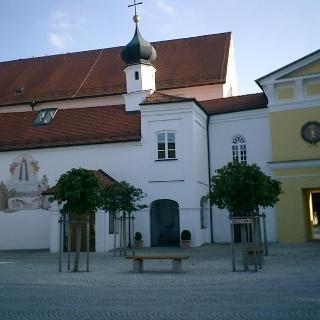 Die Loretokapelle in Türkheim.