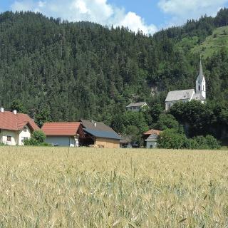 Kirche in St.Lorenzen im Gitschtal