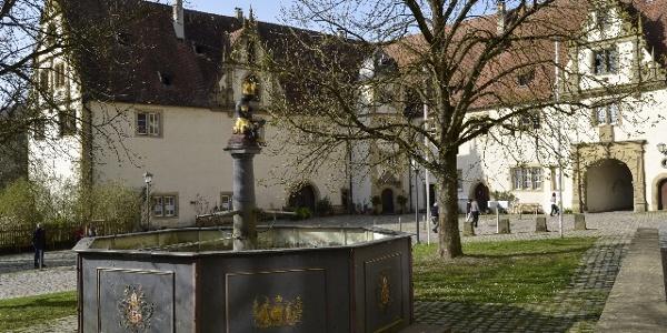 """Der """"Mohrenbrunnen"""" in Kloster Schöntal"""