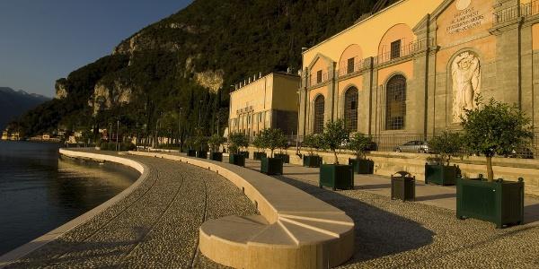 Das Wasserkraftwerk von Riva del Garda