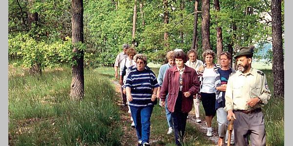 Zwar verspricht die Wanderung viel Ruhe, ist aber auch in einer Gruppe zu genißen.