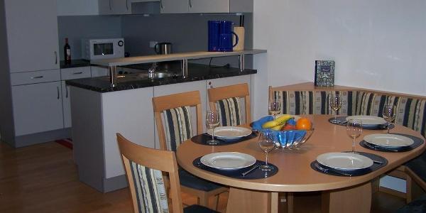 Wohnung2 Küche/Essbereich