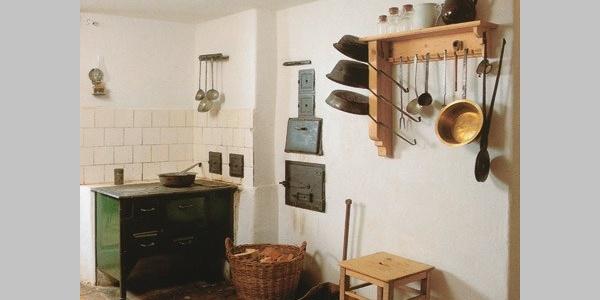 Alte Küche im Museum