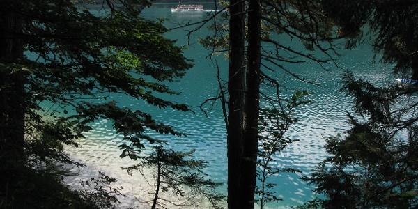 Wunderschönes Wasser am Weißensee