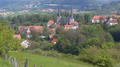 Wunderbar eingebettet in die Landschaft liegt Nemmersdorf.