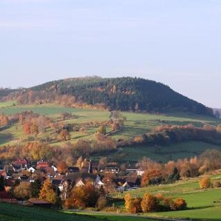 Blick auf den Heiligenberg