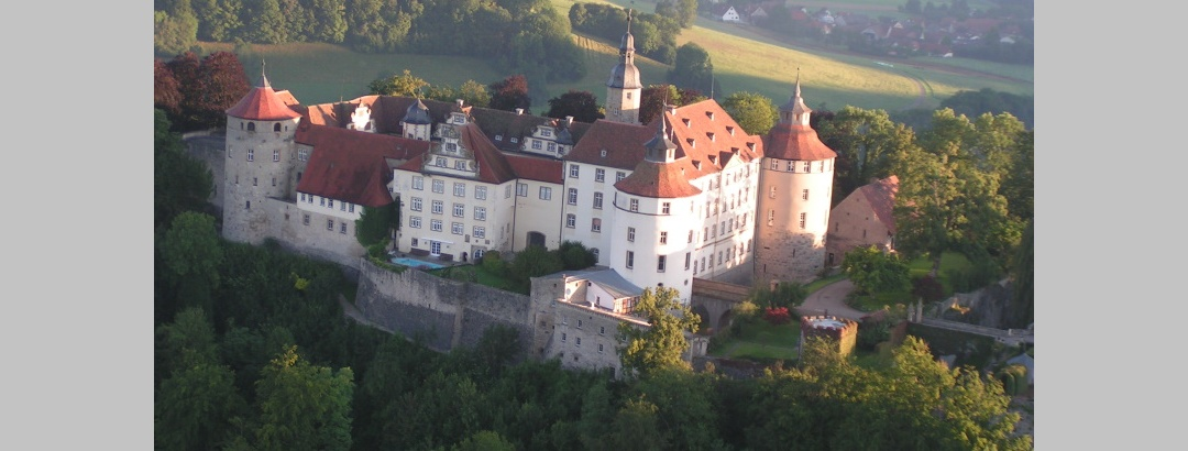 Prächtiges Schloß Langenburg