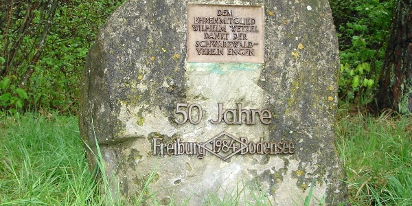 Wetzelstein zum 50. Jubiläum des Querweges Freiburg - Bodensee