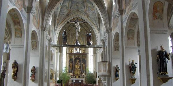 Die Klosterkirche Seeon.