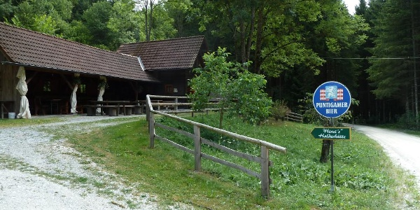 Hirzis Holterhütte direkt am Radweg ist am Wochenende geöffnet