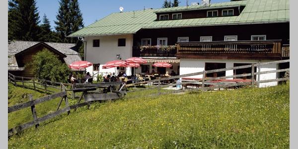 Der Gsthof Bergheim im Sommer